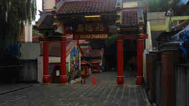 Gerbang Vihara Dhanagun