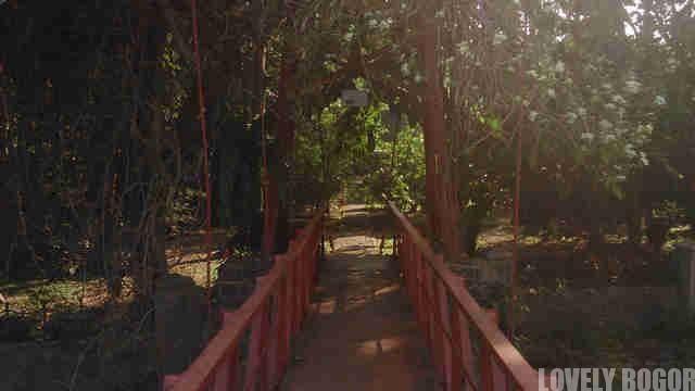 The broken heart bridge Bogor