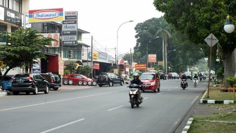Jalan Sudirman, Urat Nadi Kota Hujan