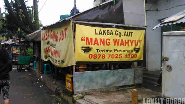 Bogor Laksa Gang Aut Mang Wahyu