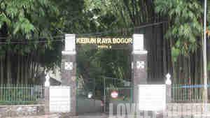 Pintu Lama Kebun Raya Bogor