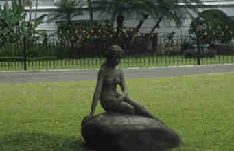 Patung Little Mermaid-Little Mermaid Statue