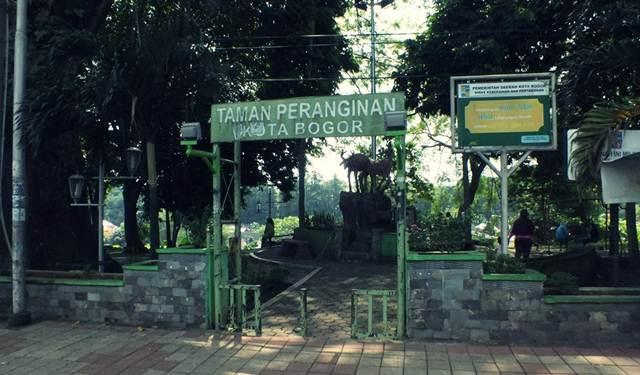 Taman Peranginan Jalan Sudirman Bogor