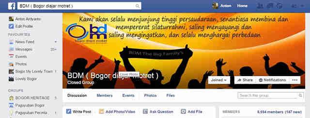 Komunitas Bogor di dunia maya