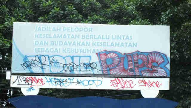 Vandalisme di Bogor – Corat Coret Nggak Puguh