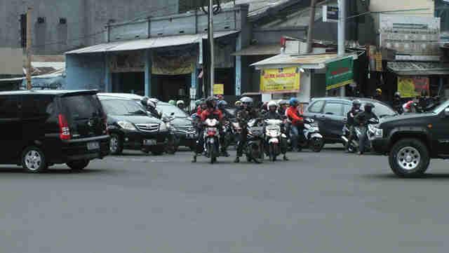 Disiplin lalu lintas di Bogor