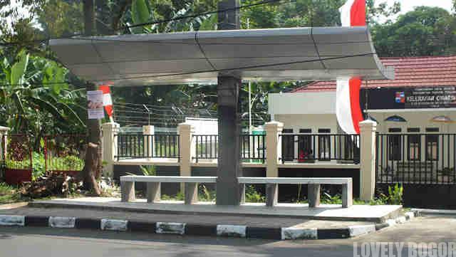 Halte di Kota Bogor