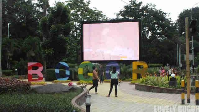 Taman indah di kota Bogor