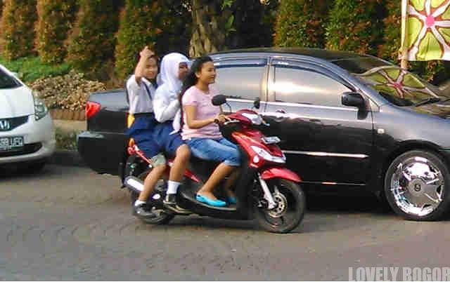 8 Ulah Pengendara Motor Anak-Anak di Bogor