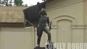 Patung Suprijadi di Jalan Sudirman Bogor 2