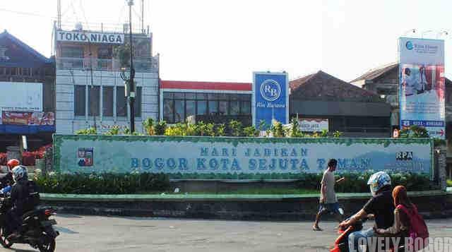 Bogor, Kota Sejuta Taman ? Roma Pun Tidak Dibangun Dalam Semalam