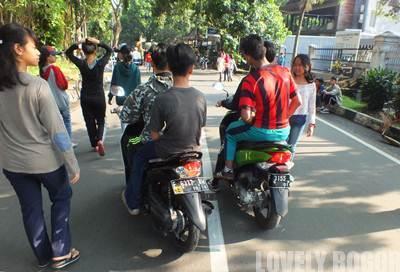 Hari Bebas Kendaraan Bermotor di Bogor