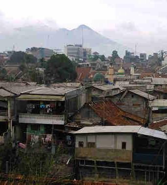 Pemukiman Padat Penduduk di Bogor - City Blogger