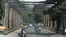 Jembatan Besi di Jalan RE Martadinata
