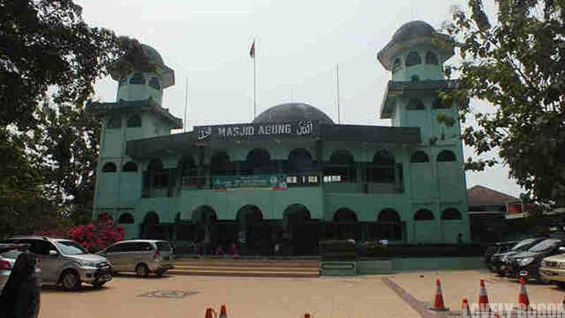 Mesjid Agung Bogor – Perlu Perawatan