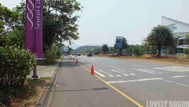 Jalan MH Thamrin Sentul City