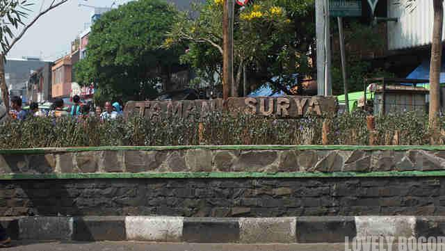 Taman Suryakencana Bogor