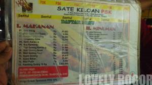 Warung Sate Kiloan PSK