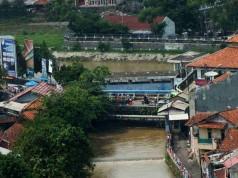 Bendung Cisadane Empang Bogor