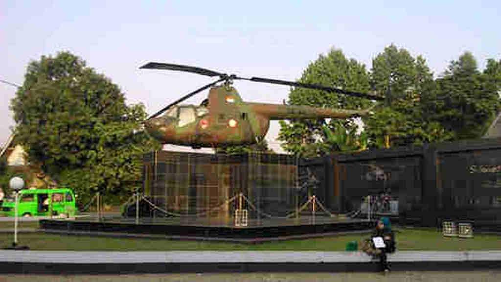 The Chopper Monument