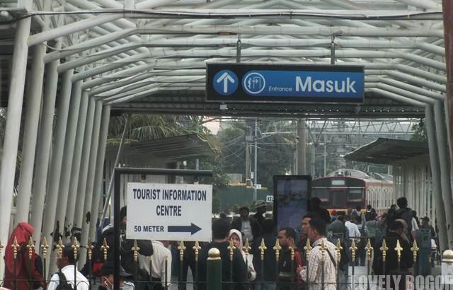 Bogor Train Station New Entry Gate