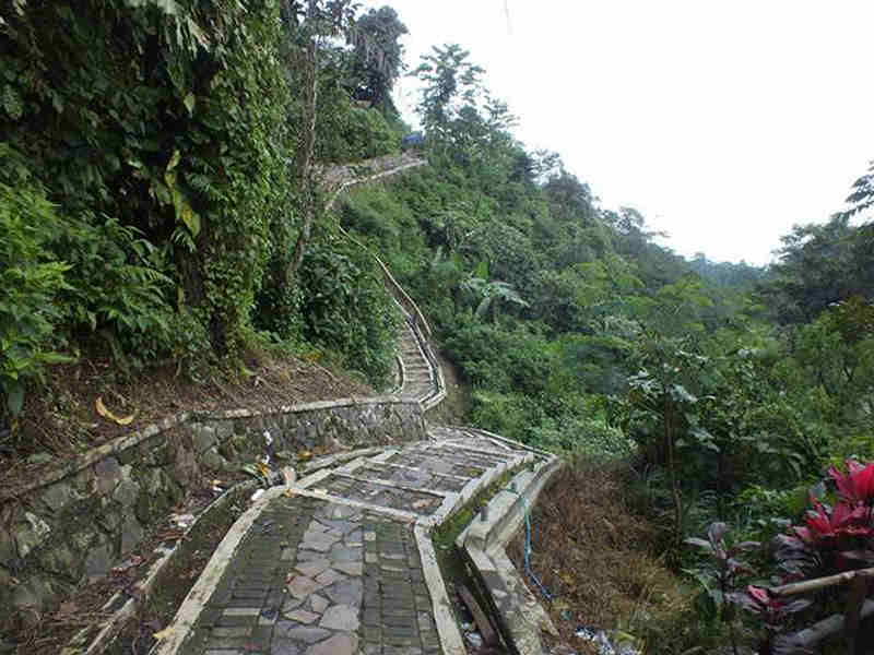 The Beauty of Cigamea Waterfall Bogor