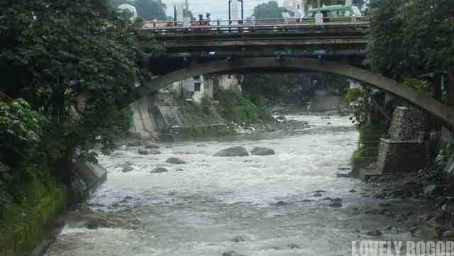 Ciliwung River in Rainy Season