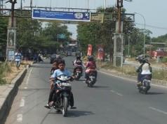 Pengendara anak di bawah umur di Salabenda