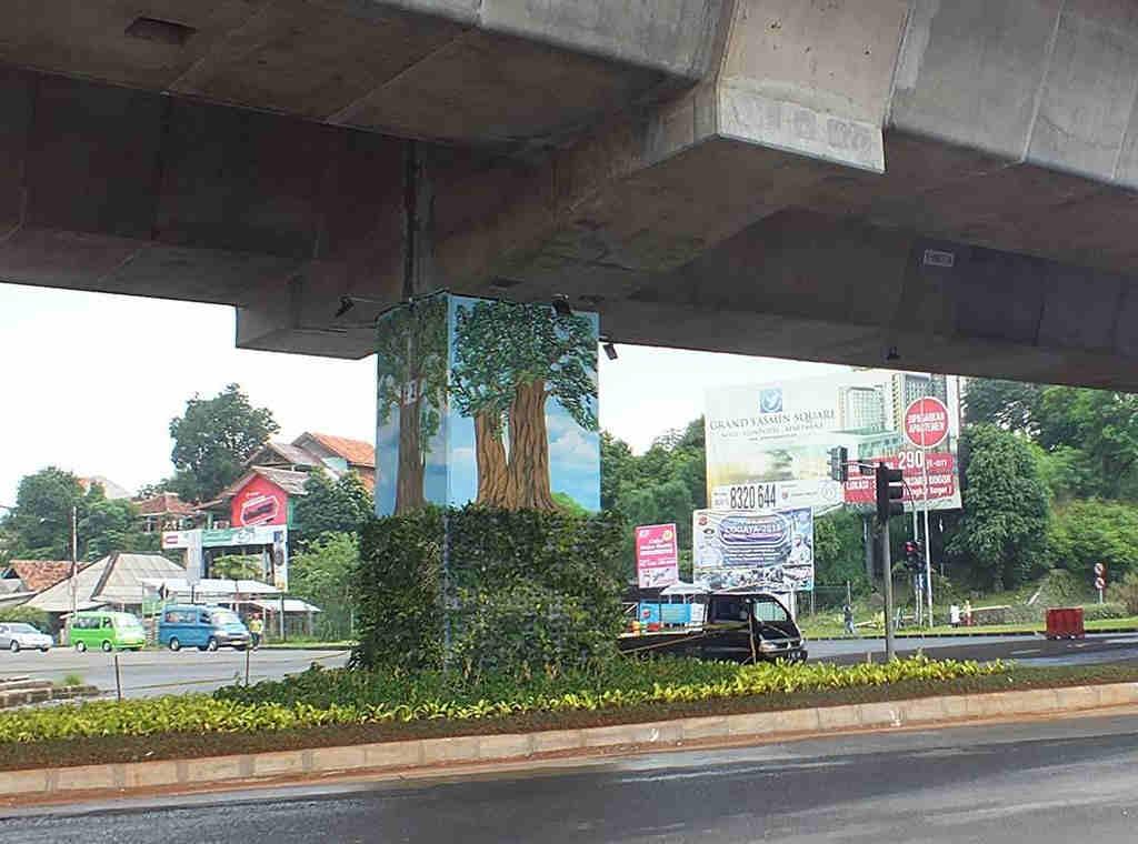 Taman Kolong Jalan Tol Bogor