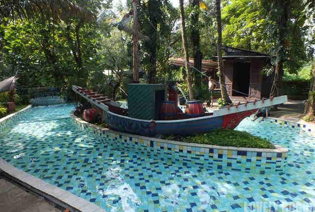 Mahakam River di The Jungle Water Adventure Bogor