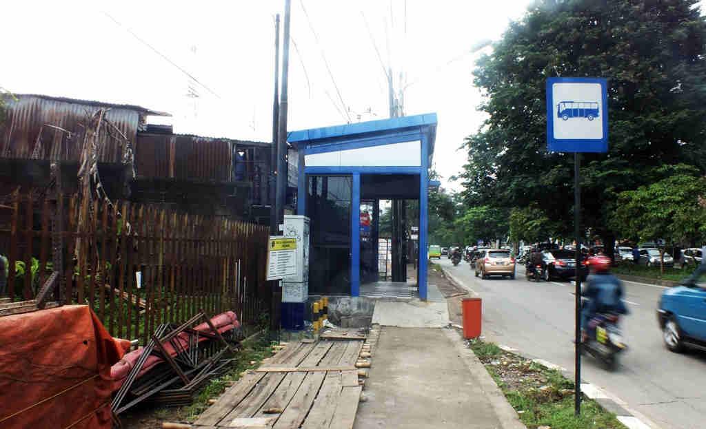 Prasarana Umum Bogor - Halte Trans Pakuan