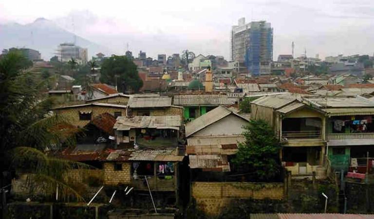 7 Foto Pemukiman Padat Ini Menunjukkan Bogor Sudah Butuh Rumah Susun
