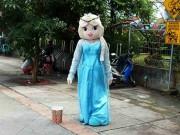 Snow White Character On Bogor Street