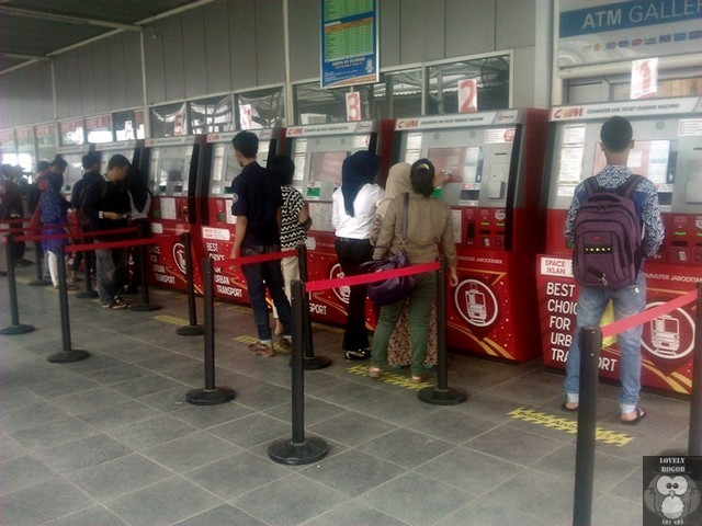 Commuter Line Ticket Vending Machine