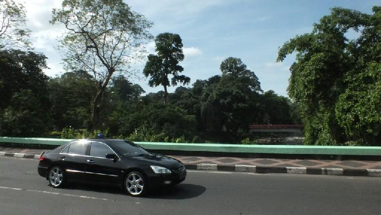 Menikmati Landscape Indah Jembatan Sempur