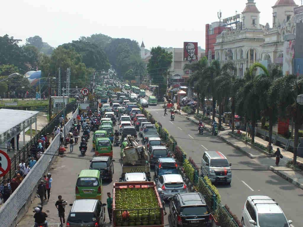 Traffic Jam in Bogor