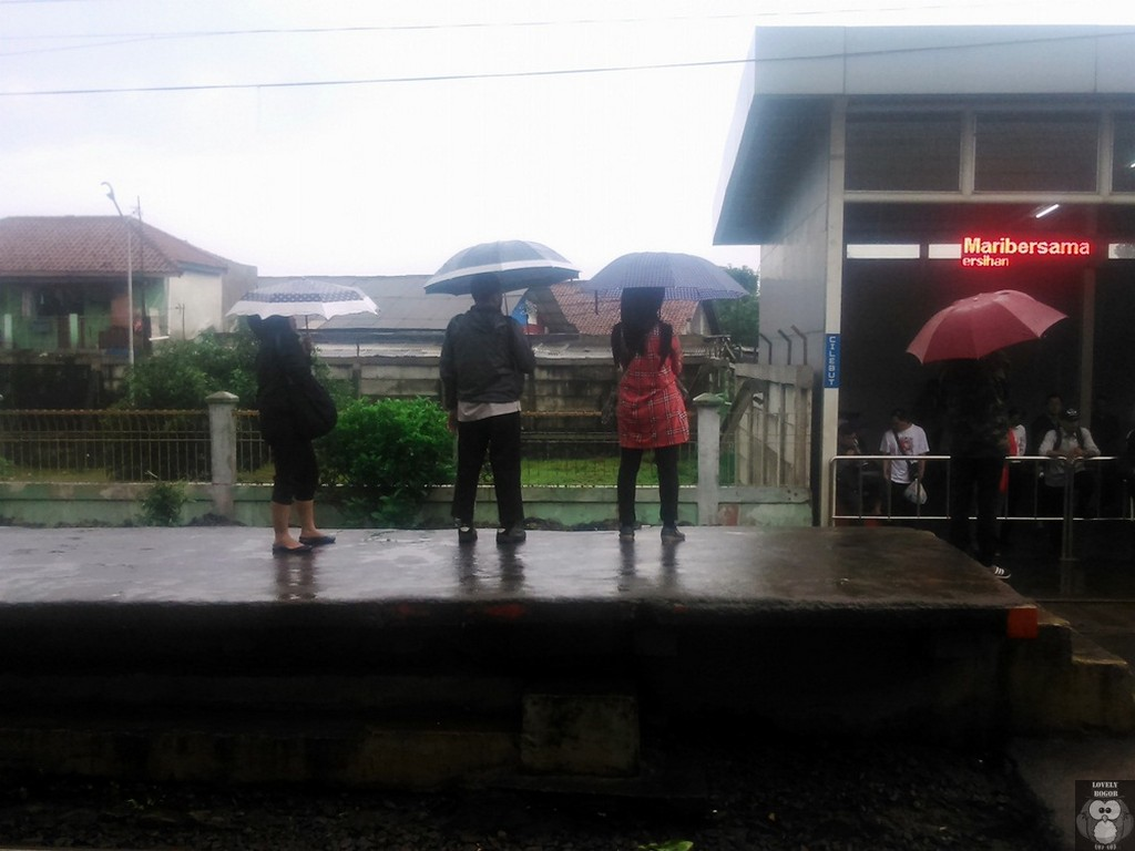 Menanti Di Bawah Hujan