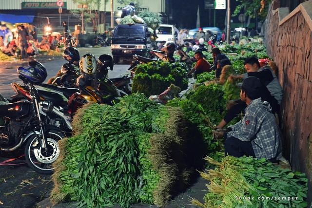 Pedagang Sayur Bogor