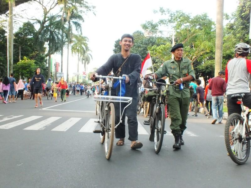 Penggemar Sepeda Onthel Bogor