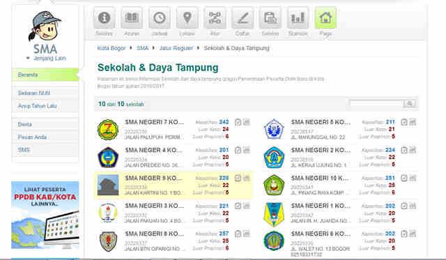 situs PPDB Online Kota Bogor 02