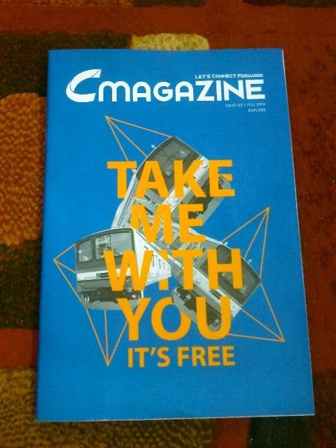 C Magazine , Majalahnya Commuter Line