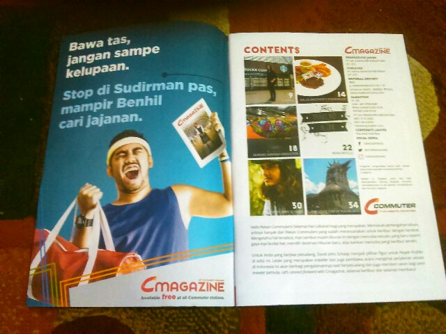 C magazine majalahnya para komuter