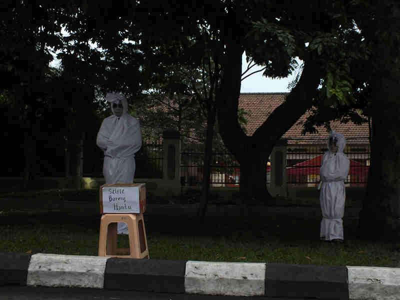 Penampakan Menyeramkan di Car Free Day Bogor