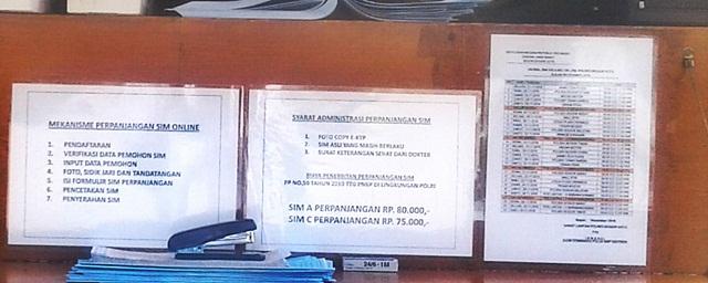 Cara Perpanjang SIM di Layanan SIM Keliling Kota Bogor. 3