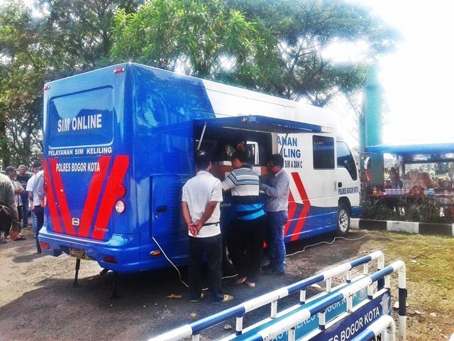 Cara Perpanjang SIM di Layanan SIM Keliling Kota Bogor