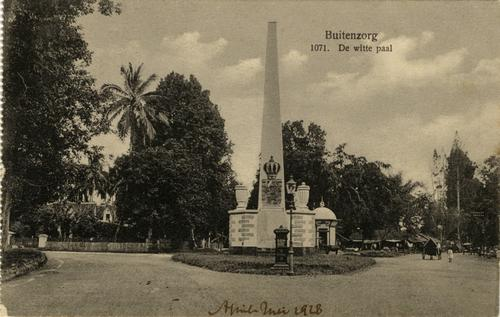 de Witte Paal - Tugu Putih Bogor