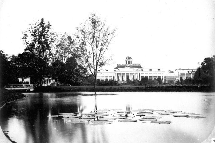 istana bogor dulu 1860-1872