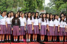 Paduan Suara Regina Pacis di Cap Go Meh Bogor 2017