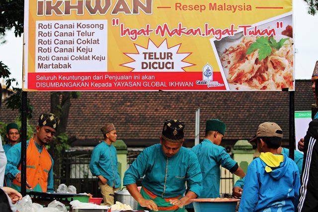 ingat makan ingat Tuhan - Yayasan Global Ichwan