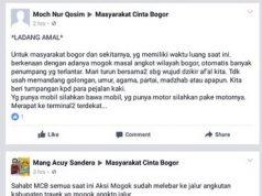 tanggapan netizen terhadap demo dan mogok angkot di Bogor b
